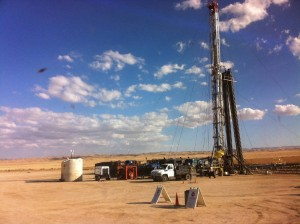 South Texas rigsite during the day