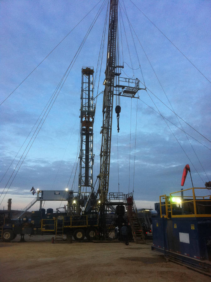 Rigs In South Texas Oilfield