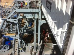 drilling rig cellar